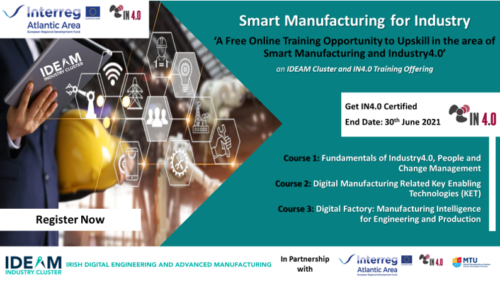 Free Online Training - Smart Manufacturing for Industry