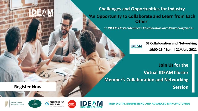 IDEAM Cluster Member's Collaboration and Networking