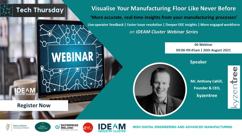 Tech Thursday: Visualise Your Manufacturing Floor Like Never Before